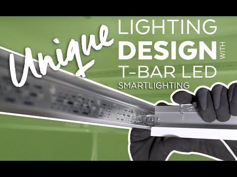 Architect T Bar Led Smartlight Lighting Youtube