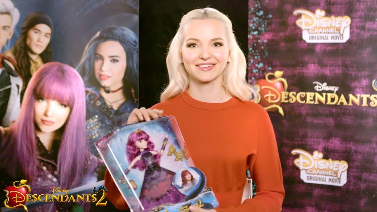 Mal Cotillion Doll Unboxing With Dove Cameron