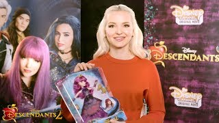 Dove Cameron Unboxes the Mal Cotillion Doll! | Descendants 2