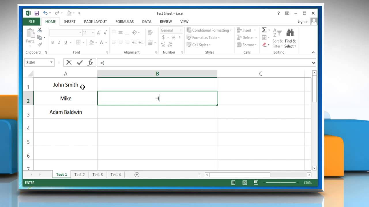 Excel consolidating text from 2 cells into 1