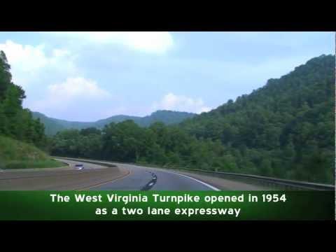 I-64 East & I-77 South: West Virginia Turnpike