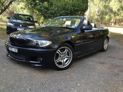 BMW I Convertible E SMG YouTube - 2005 bmw 325i convertible