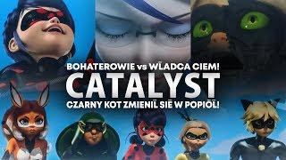 Bohaterowie vs Szkarłatny Władca Ciem! |  Dzień Bohaterów cz.1 - Catalyst  | Miraculum: S2