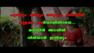Anuraga vilochananayi .. Karaoke with display lyrics in Malayalam .. Neelathamara