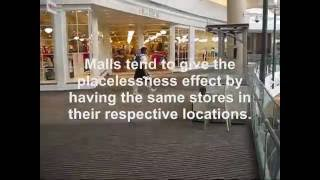 Human Geography: Bay Area Malls
