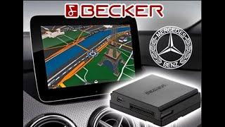 Оновлення навігації Becker MAP PILOT для Mercedes-Benz. Прошивка. Карти Європа, Україна, Росія.