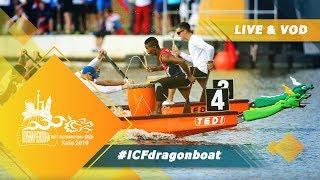 2019 ICF Dragon Boat Club Crew World Championships Kiev Ukraine / Day 2