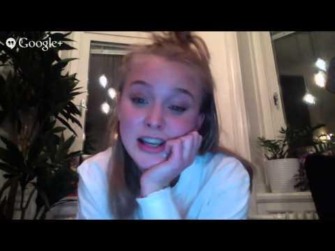 Zara Larsson Pre Grammis Hangout #ZaraGrammis