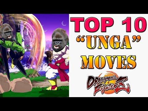 "Dragon Ball FighterZ - The Top 10 ""unga bunga"" braindead gorilla moves of DBFZ! |"