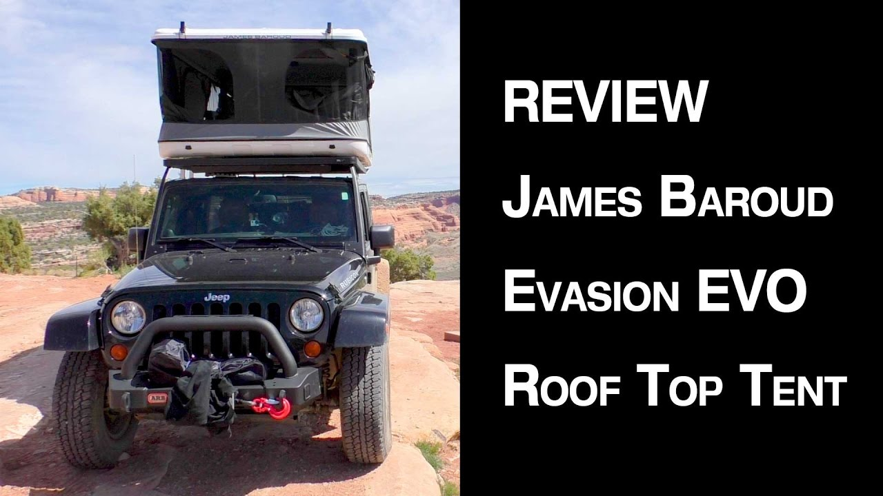 James Baroud Evasion Xxl Roof Top Tent Review Youtube
