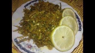 Mola macher chochori/mola fish fry
