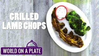 How to make Grilled Lamb Chops   World on a Plate   Manorama Online Recipe