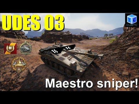 World of Tanks Español: UDES 03 | Maestro Sniper! thumbnail