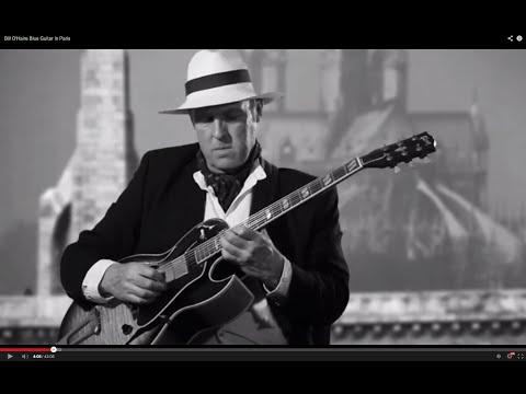 Bill O'Haire Blue Guitar In Paris