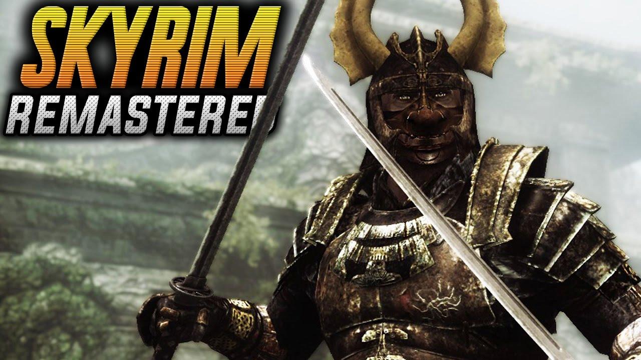 Skyrim remastered прохождение