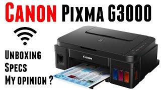 UNBOXING CANON PIXMA G3000 | Best Budget Wireless Printer | Specifications | ByTECH MUKANS