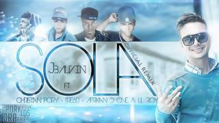 J Balvin ft Lil Roy sola remix ginza