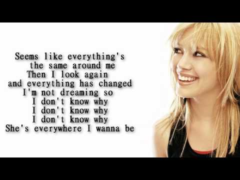Hilary Duff - Who's that girl lyrics