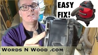 Easy Shop Vac Fix for noisy bearings (WnW #43)