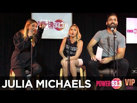 Carla Marie & Anthony interview Julia Michaels