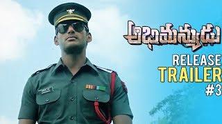 Abhimanyudu Release Trailer #3 | Vishal | Samantha | TFPC