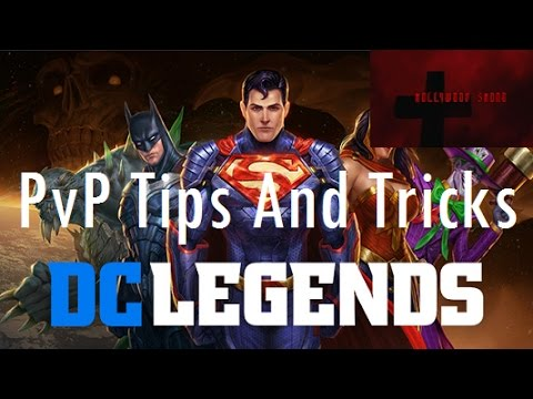 DC Legends - PvP Tricks and Tips