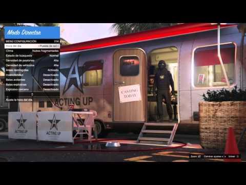 Grand Theft Auto V Tutorial como usar el modo director