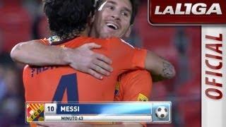 La Liga | RCD Mallorca - FC Barcelona (2-4)  | 11-11-2012 | J11 | Resumen