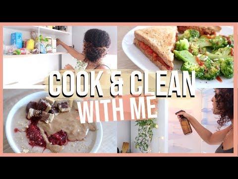 gros-mÉnage-&-organisation-de-ma-cuisine-//-+-prÉparation-repas
