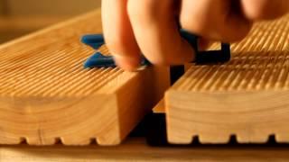 Монтаж террасной доски на крепеж Duet(Пример монтажа террасы и фасада с использованием крепежа Twin Mini., 2014-02-20T13:47:00.000Z)