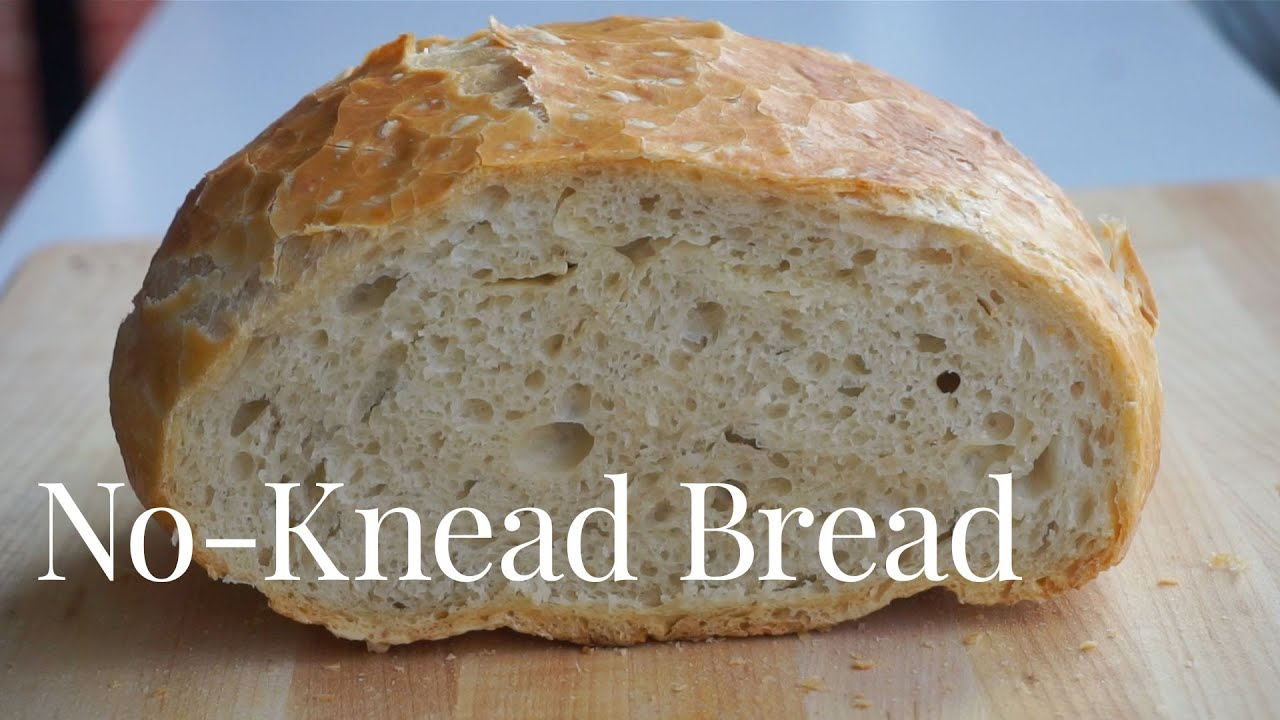 How to Easily Make No-Knead Bread at Home