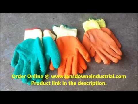 Yellow & Orange - Green & Yellow Grip - Premium+ Grip Gloves