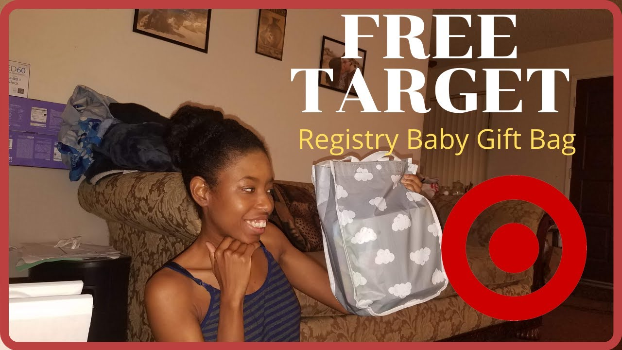 FREE TARGET BABY REGISTRY WELCOME BAG | 2019/2020 - YouTube