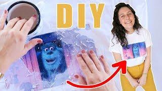 Gambar cover DIY ¿Cómo Estampar Playeras/Camisetas? Fácil con un producto Mágico!