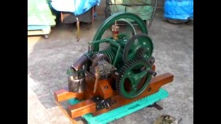 アメリカ発動機 8サイクル Aermotor 8 cycle stationary engine