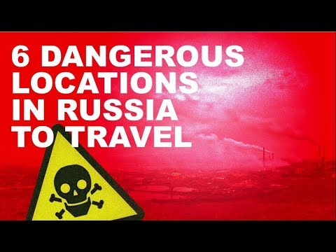 6 locations in Russia, where traveling to is dangerous for tourists