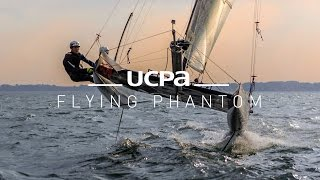 Le Flying Phantom à l'UCPA (catamaran à foil)