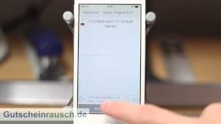 Phase6 App im Test auf Gutscheinrausch.de