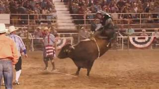 Broncs, Bulls and Barrels: 2017 Ogden Pioneer Days Rodeo Highlights