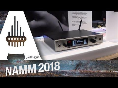 Sennheiser - Wireless Systems - NAMM 2018