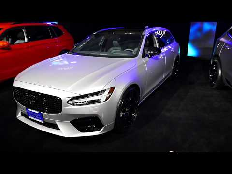 New 2018 Volvo V90 Wagon - Galpin Auto Sports Custom Car - 2017 LA Auto Show