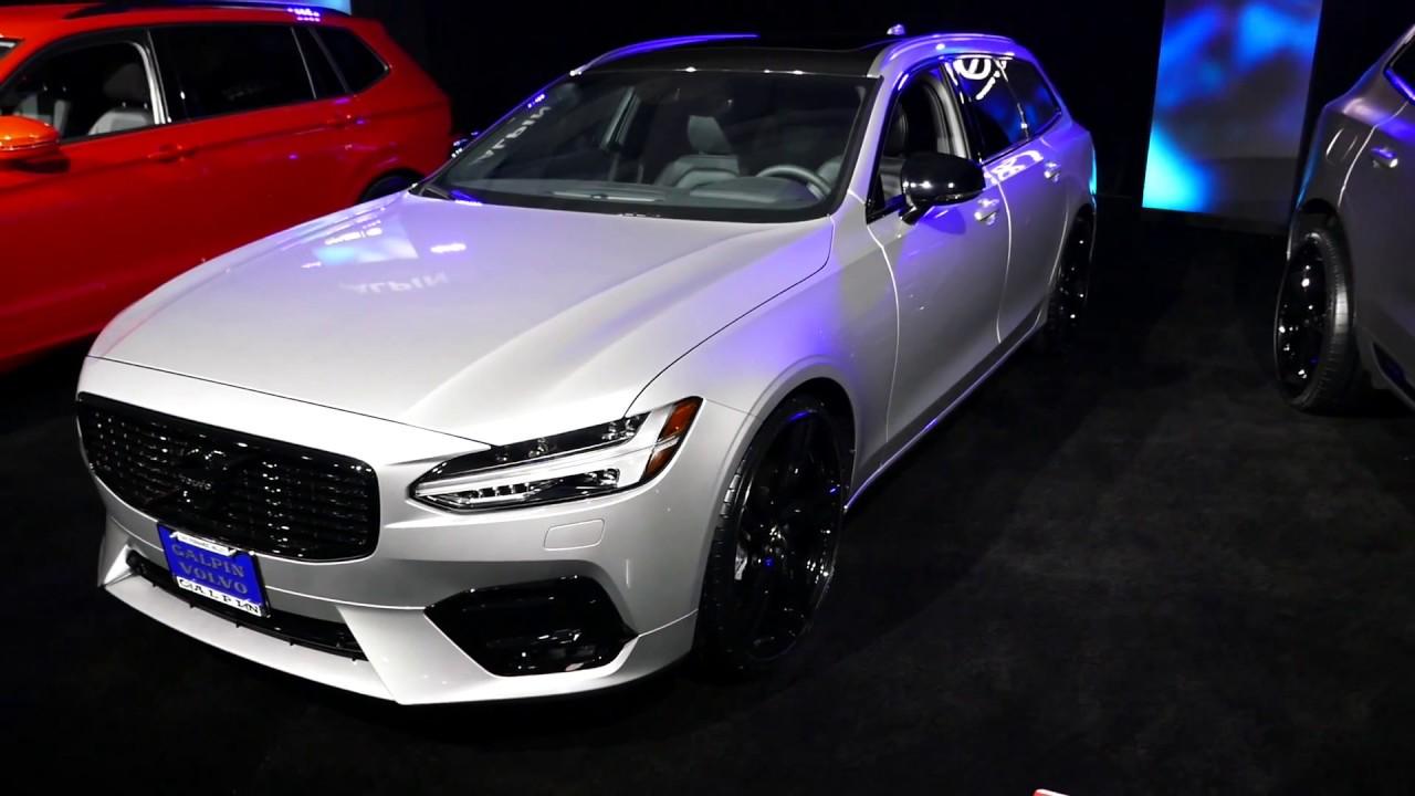 New 2018 Volvo V90 Wagon - Galpin Auto Sports Custom Car ...
