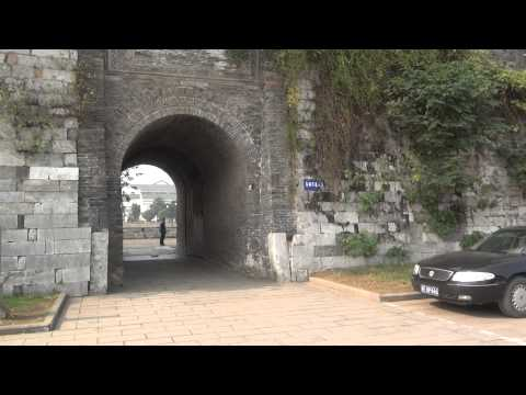 City Gate at the Beijing-Hangzhou Grand Canal (Grand Canal) in Suzhou China