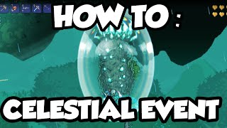 Terraria 1.3 - Celestial Event - How To Spawn The Celestial Event + Final Boss!