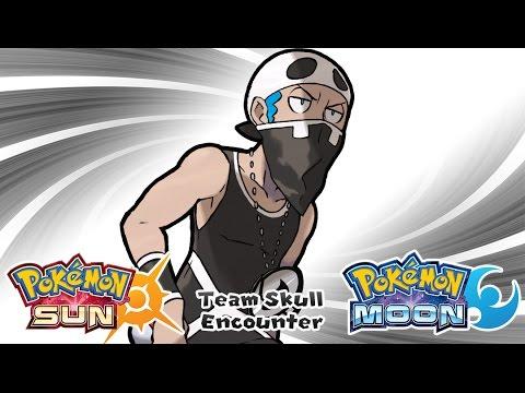Pokemon Sun & Moon - Team Skull Encounter Music (HQ)