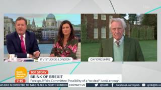 Lord Heseltine on the State of Brexit | Good Morning Britain
