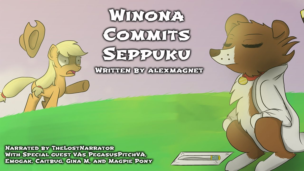 winona commits seppuku mlp fanfic reading crackfic random comedy
