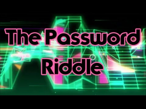 Can you solve my fiendish Riddle? - The Password
