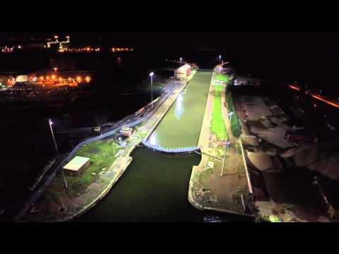 Musco Lighting – Associated British Ports, Newport Docks