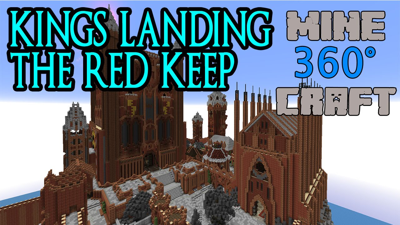 Kings landing the red keep game of thrones in minecraft 360 kings landing the red keep game of thrones in minecraft 360 degrees gumiabroncs Image collections